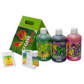 Promo - Tripack Flora Series agua dura (GHE)