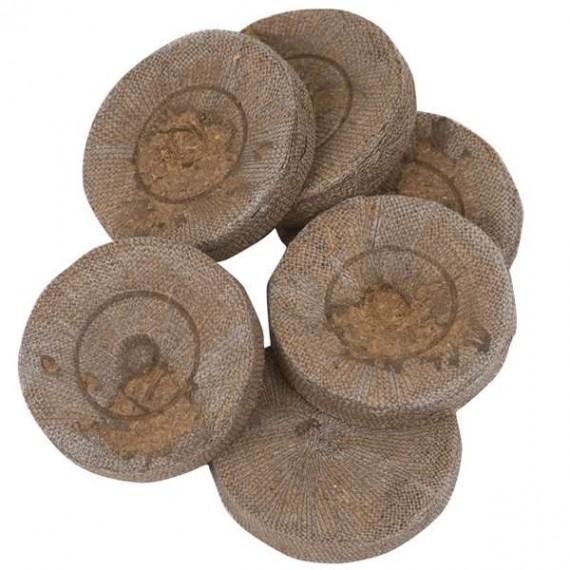 Pastillas de Jiffy-7 Ø 41mm - 1000uds