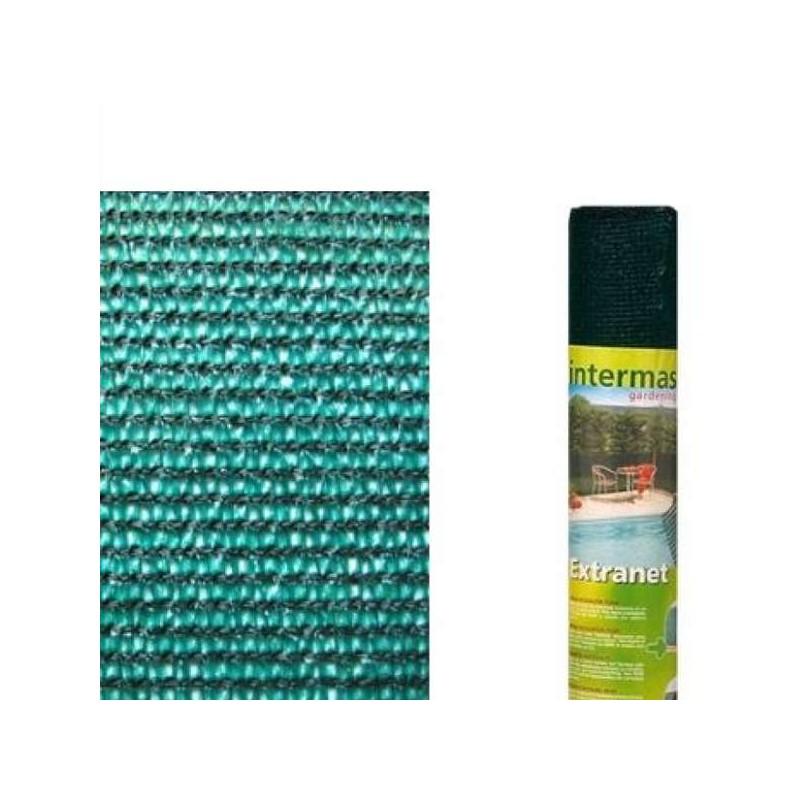 Malla de ocultacion verde (rollo 1x5mt)