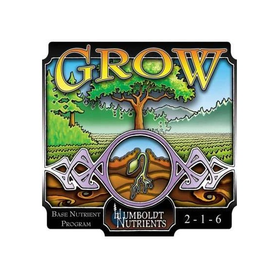3-Part Grow 0,9L. (32oz) Humboldt