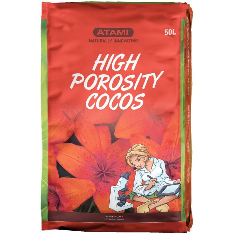 Coco Substrate High Porosity 50L. (Atami) (70p)