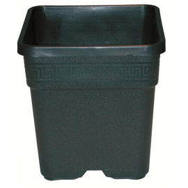 Maceta cuadrada  negra  Ref.Madres - 30L