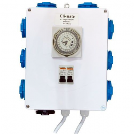 Temporizador electrico 8x600W + heating CLI-MATE