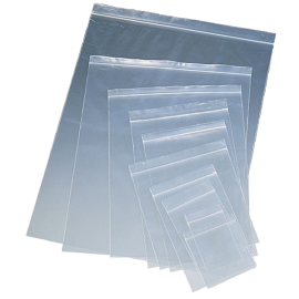 Bolsa cierre transparente 180x250x0,05mm  2L  (100uds)