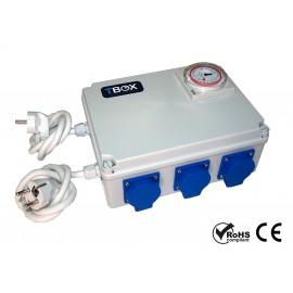 Temporizador electrico 6x600w TBOX